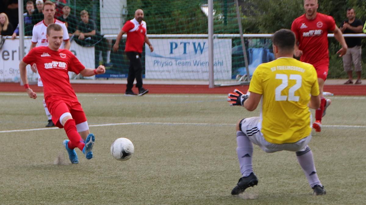 Moritz Müller trifft zum 3:1