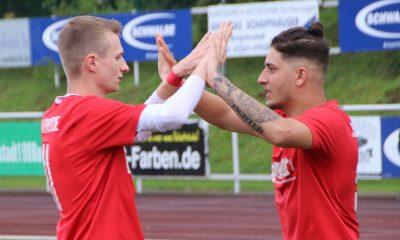 Torschützen: Moritz Müller und Karim Achour